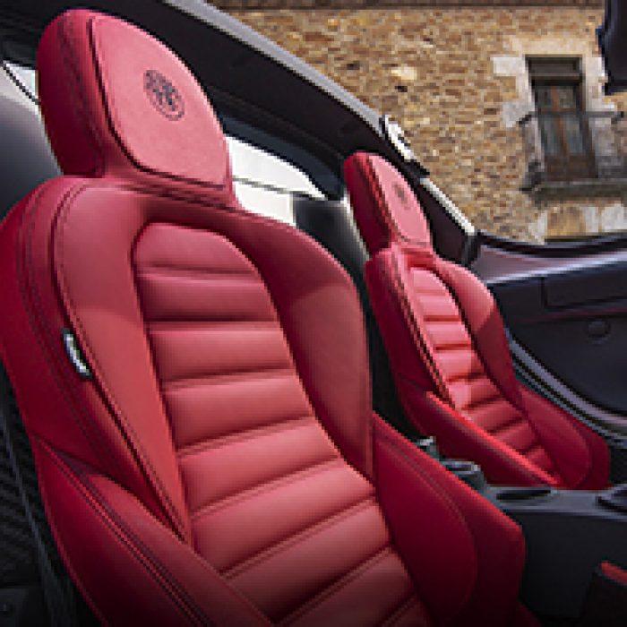 Asientos del Alfa Romeo 4C Spider 2019