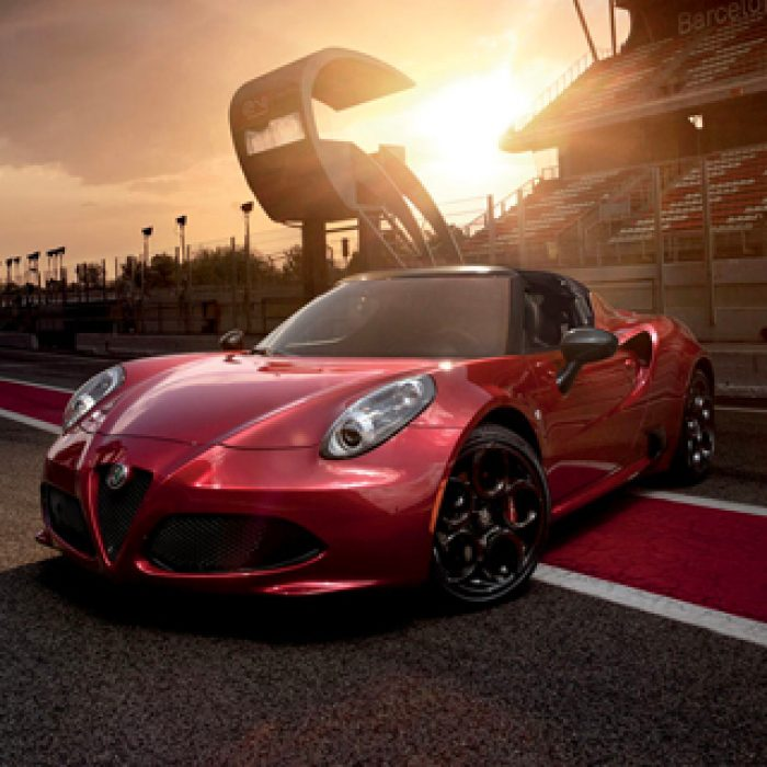 Rueda del Alfa Romeo 4C Spider 2019