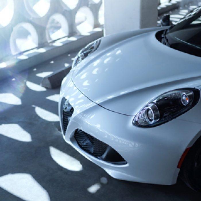 Sistema de altavoces del Alfa Romeo 4C Spider 2019