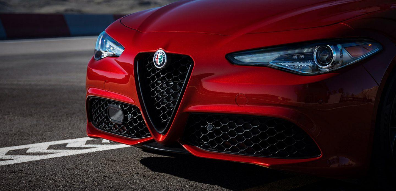 Parrilla del Alfa Romeo Giulia 2019