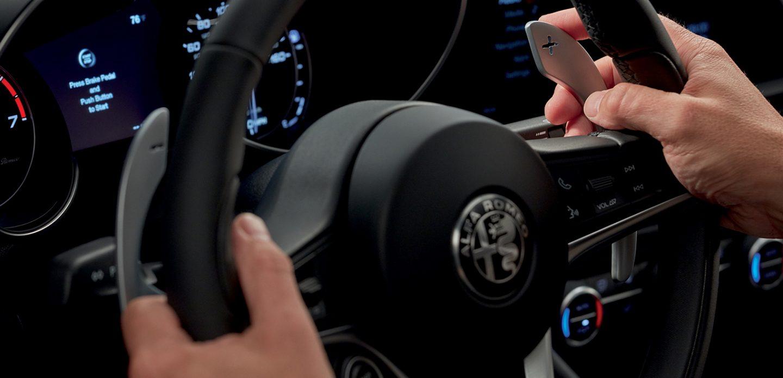 Paletas de cambio del Alfa Romeo Giulia 2019