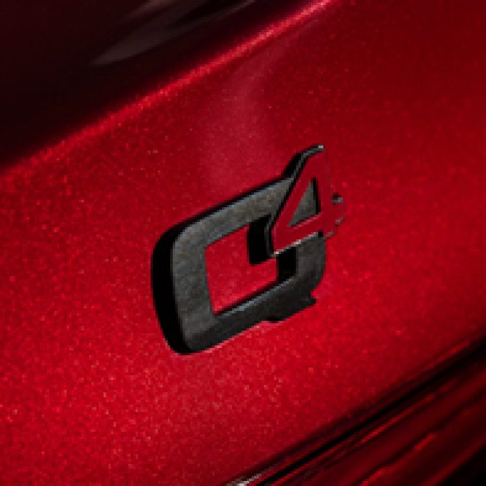 Emblema del Alfa Romeo Stelvio Q4 2019