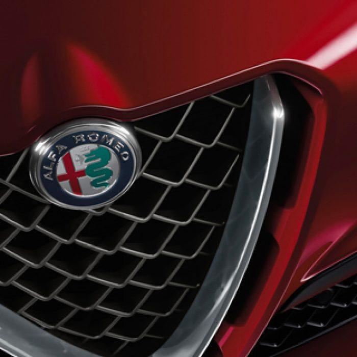 Parrilla del Alfa Romeo Stelvio 2019
