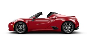 Lateral del 4C Spider - Alfa Romeo USA