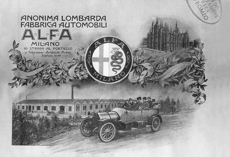 Fundación de A.L.F.A. en 1910