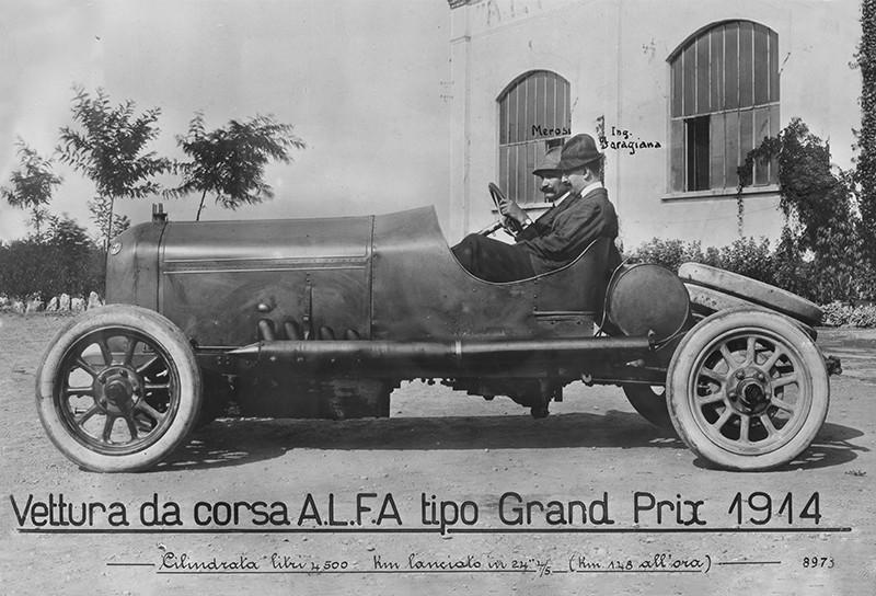 ALFA Grand Prix 1914 de Giuseppe Merosi