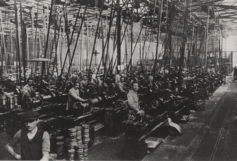 1918: Alfa prosperó durante la Primera Guerra Mundial