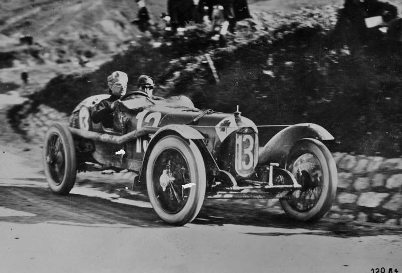 Alfa Romeo P1, el auto de Ugo Sivocci, 1923