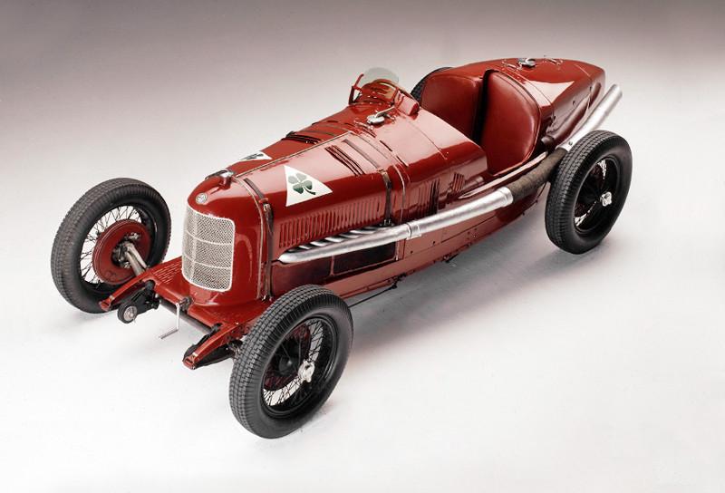 Alfa Romeo P2, el auto de Vittorio Jano, 1924