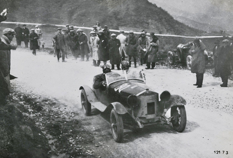 1928: La primera victoria de Alfa en las Mil Millas