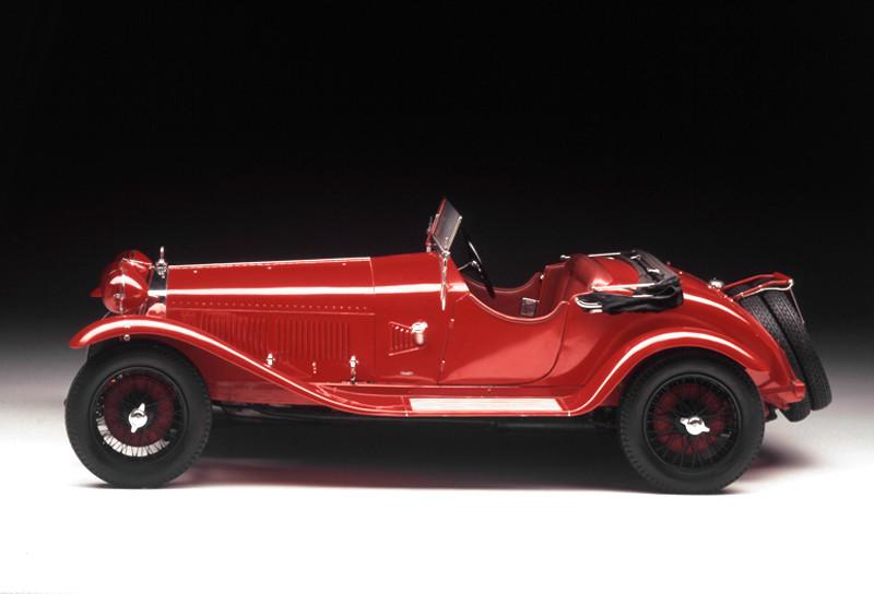 El Alfa Romeo 6C 1750 se convirtió en un ícono, 1930