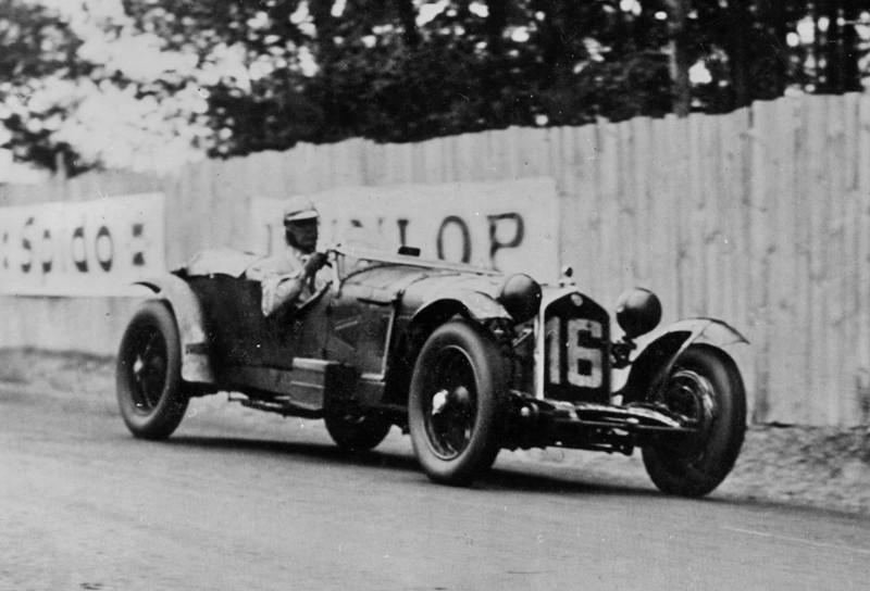 El Alfa 8C 2300 dio a Italia su primer ganador en Le Mans, 1931