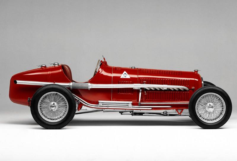 Alfa Tipo B, el P3, diseñado para carreras de resistencia, 1932
