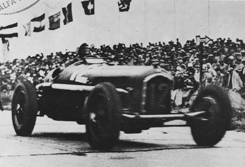 Nuvolari ganó el Grand Prix alemán, 1935