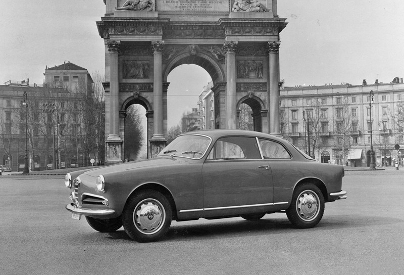 Alfa Romeo Giulietta Sprint Version, 1954