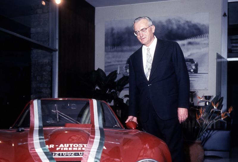 1960: Luraghi fue designado nuevo presidente de Alfa Romeo