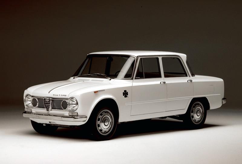 Alfa Romeo Giulia, diseñado por el viento, 1962