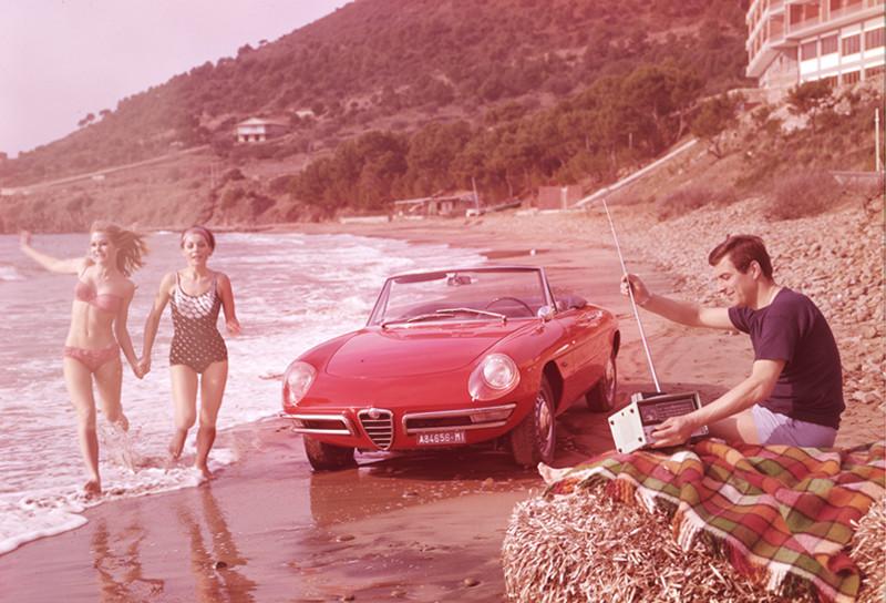 Alfa Romeo Duetto y el Graduado, 1966