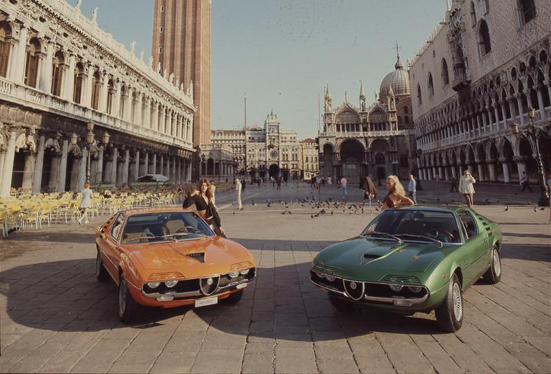 Alfa Romeo Montreal, del concepto a la producción, 1970