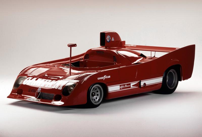 Alfa Romeo 33 TT 12 por Carlo Chiti, 1975