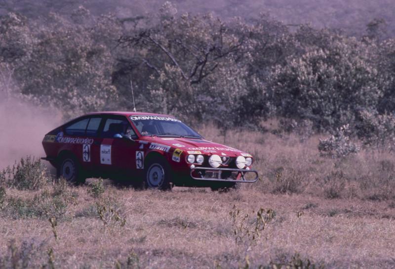 1981: El V6 transformó al coupé Alfetta