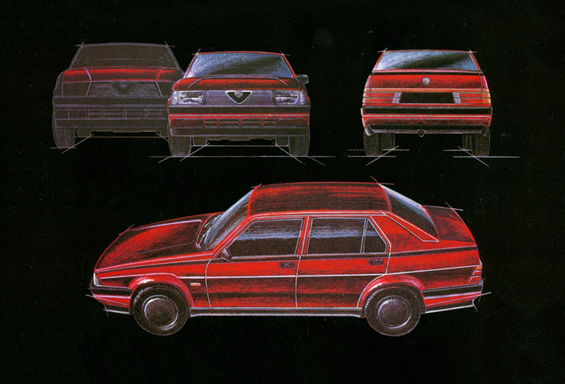 1986: Alfa lanzó su centro de diseño en Arese