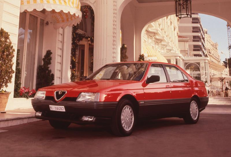 Alfa Romeo 164 trajo algunos problemas en América, 1987