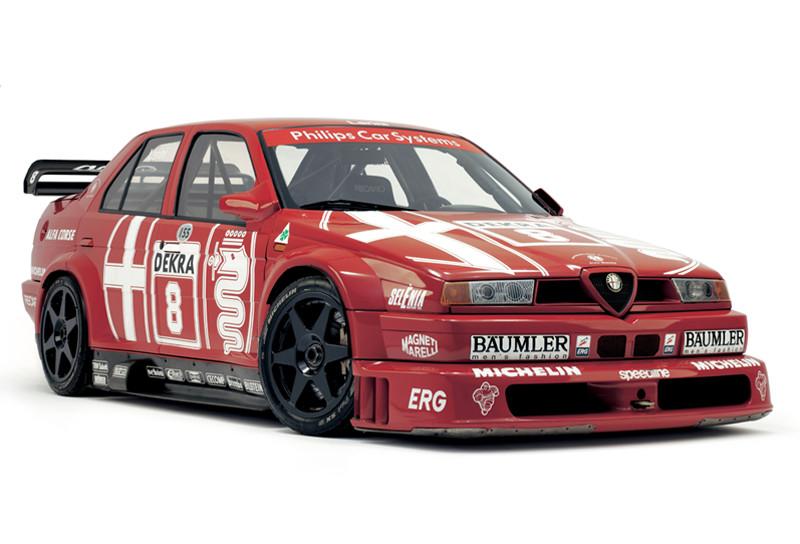 Alfa 155 mejoró el Alfa 75, 1992