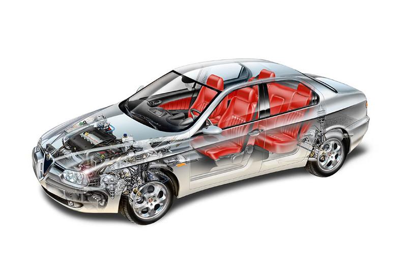 Alfa Romeo presentó 156, el que bate récords