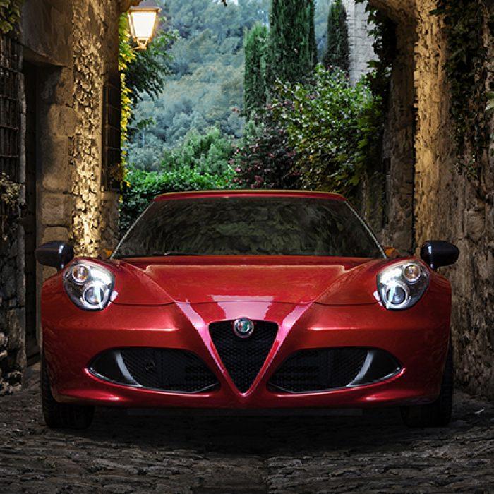Parrilla del Alfa Romeo 4C 2018
