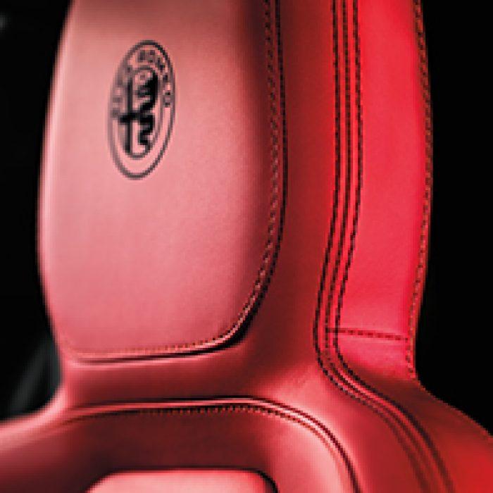 Asiento del Alfa Romeo 4C 2018