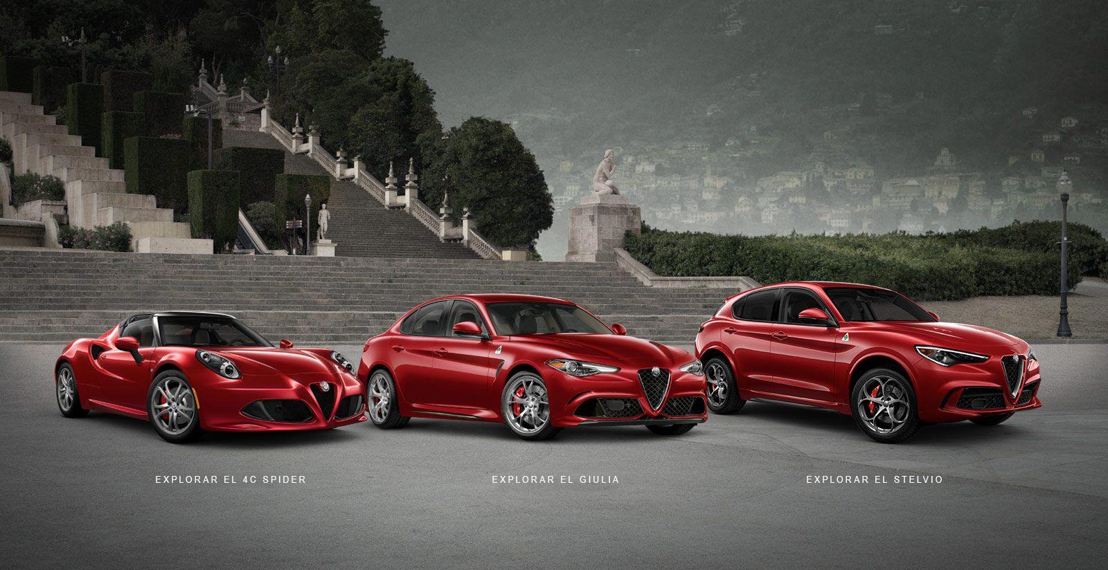 Línea de vehículos Alfa Romeo2019