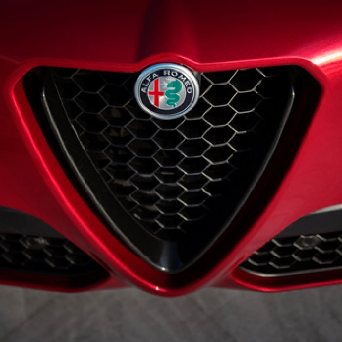 Parrilla del Alfa Romeo Stelvio 2018